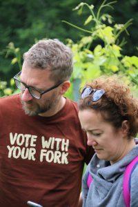 Niedziela to był dzień głosowania, ale na naszej wycieczce głosowaliśmy widelcami